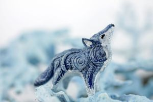 Winter Wolf totem by hontor