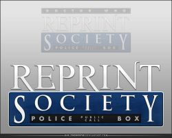 Reprint Society Logo by AHiLdesigns