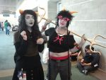 Anime Expo 2013 - Meenah and Meulin by Dark-Elf-Kana