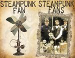 Steampunk Fans vs Fan by CatherinetteRings