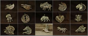 June pendants by hontor