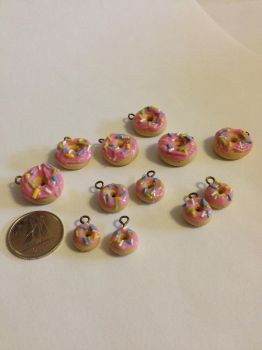 Donut Charms by kaylamckay