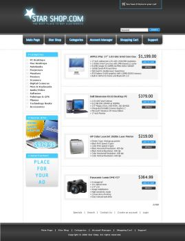 On-line Shop by queedo