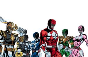 Mighty Morphin Power Rangers Comic Art - DIGITAL by CTCFirebird
