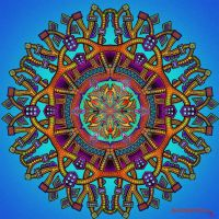 Mandala 55 collaboration with Myronavitch by Mandala-Jim