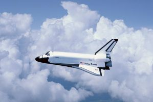 Shuttle Columbia by Robby-Robert