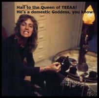 Hail to the Queen of TEEAA by JohntheFishLovesCurt