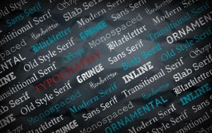 Typography by Xiphos71