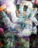 abstract hand by unspoken411
