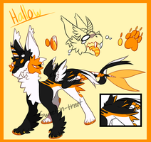 Hallow Ref Sheet by Sweet-n-treat