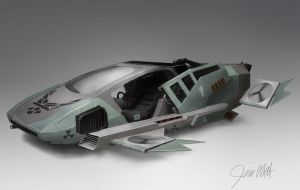 Future Air force Land Vehicle by Herck