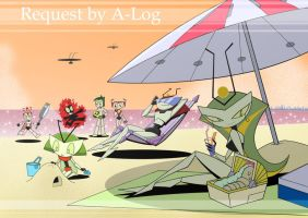 ClusterFamily_in_Resort_Planet by zackmolis