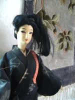 japanese doll by curlytopsan