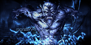 Blue Monster by lawfx