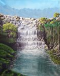 Waterfall (final) by EvansFx