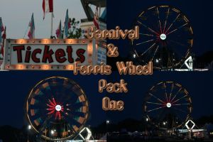 Carnival and Ferris Wheel Pack by Seductive-Stock