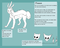 I'Thakahr species reference (closed species) by Erleuchtete