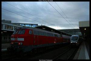 Dreary Morning DB Diesel by HerrDrayer