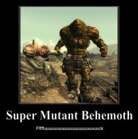 Super Mutant Behemoth by Natbob