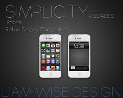 iPhone Wallpaper: Simplicity Reloaded by LiamWise