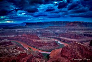 Dead horsepoint canyonland by LECHRIST31