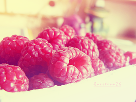 raspberries by Question26