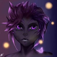 Amberglow - Guild Wars 2 by xX-Lone-Wolf-Xx