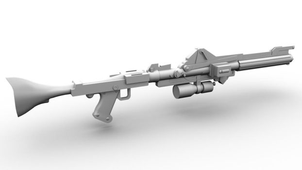 DC-15A Blaster Rifle by Kyle-Katarn145