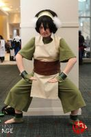 Toph Bei Fong Means Business (Angle 2) by Eleksin