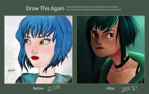 Ramona Flowers by RazSketch