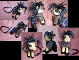 ff7 Zack pony by LightningSilver-Mana