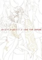 1st anniversary for loving sarumi by kenwntanabata