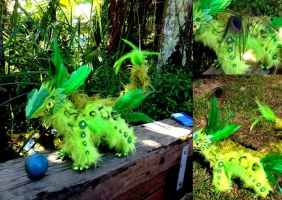 Squrggle  Poseable Creature (upgraded) - SOLD by SonsationalCreations