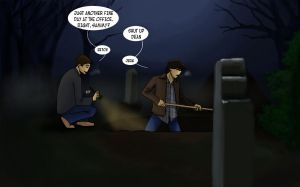 Supernatural - Some Digging by Saisoto