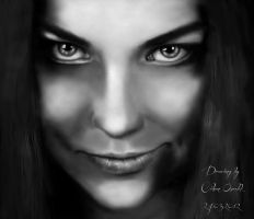AMY LEE ''airbrush'' by FEIGUR
