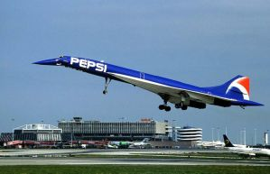 Concorde Pepsi Livery by GeneralTate