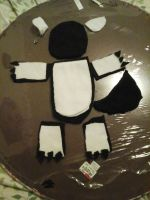 Plushie in progress for Nakumah by wolfheart01