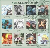 Art Summary 2010 by awisha-teh-ninja