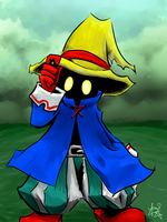 Final Fantasy - Black Mage Fanart by ZephyrXenonymous