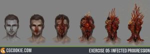 Exercise 05: Infected Progression by CGCookie