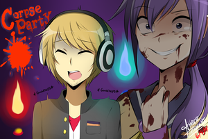 Pewdiepie: Corpse Party a fan art by MissMouri