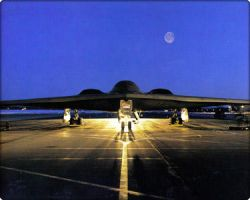 A B-2 STEALTH BOMBER by LOLMANIC45