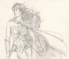 Wonder Woman Rebirth sketch by Almayer