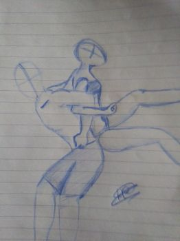 couple sketch by Nihal2000