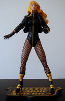 Black Canary action figure by UltimeciaFFB
