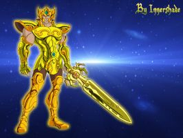 Gold Armor He-Man by Innershade