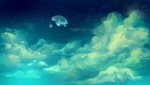 Cloud Bear by Delun