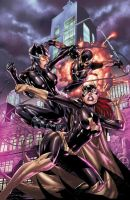 Batgirl Annual cover - colors by Ed-Benes-Studio