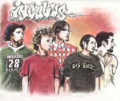 Incubus - group shot by olivepencil