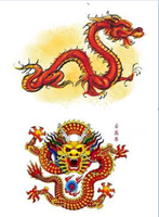 Dragons for Chinese New Year by WhiteWitchAngel